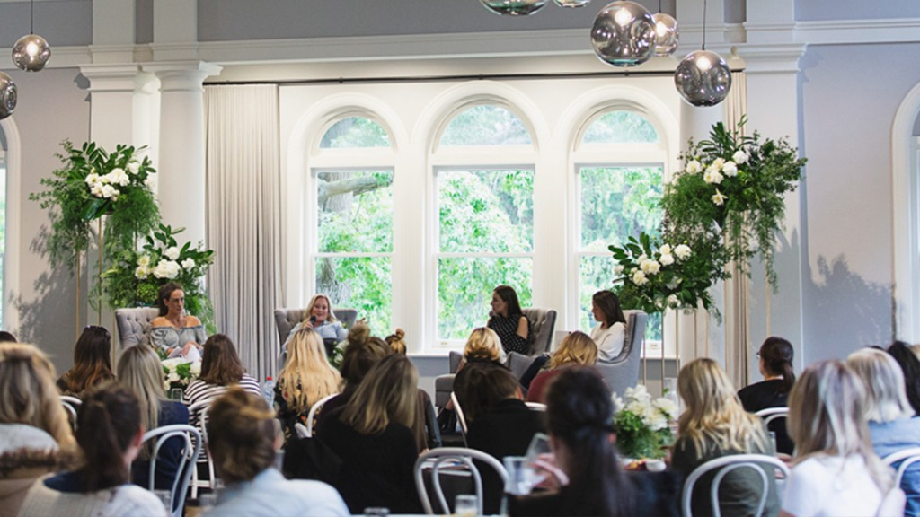 The Refectory Bride Business Event with Ivory Tribe