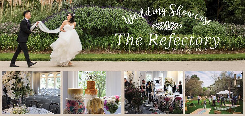 A fantastic day at the annual Bursaria The Refectory Werribee Park  Wedding Showcase