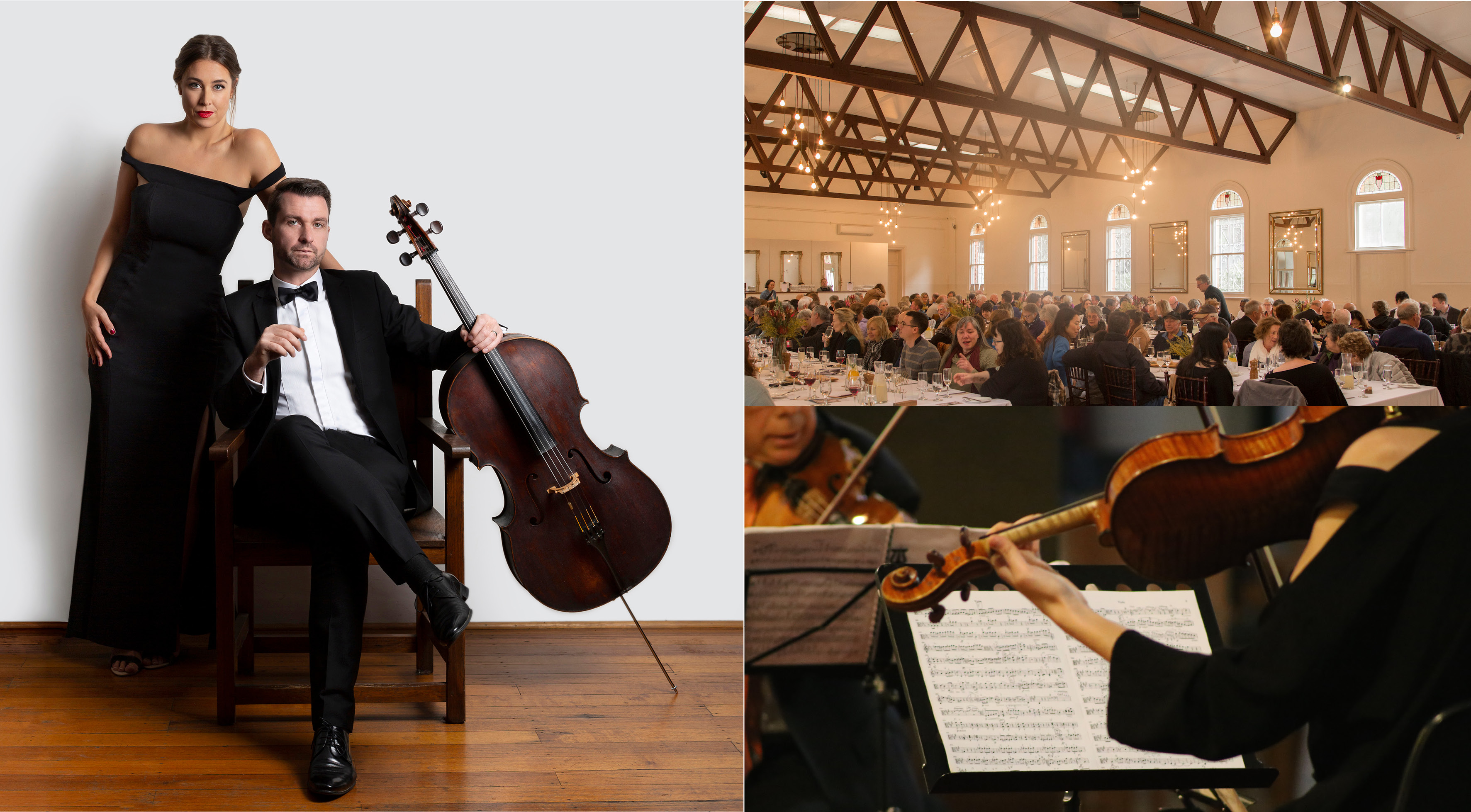 music in the round abbotsford convent melbourne recital bursaria fine foods