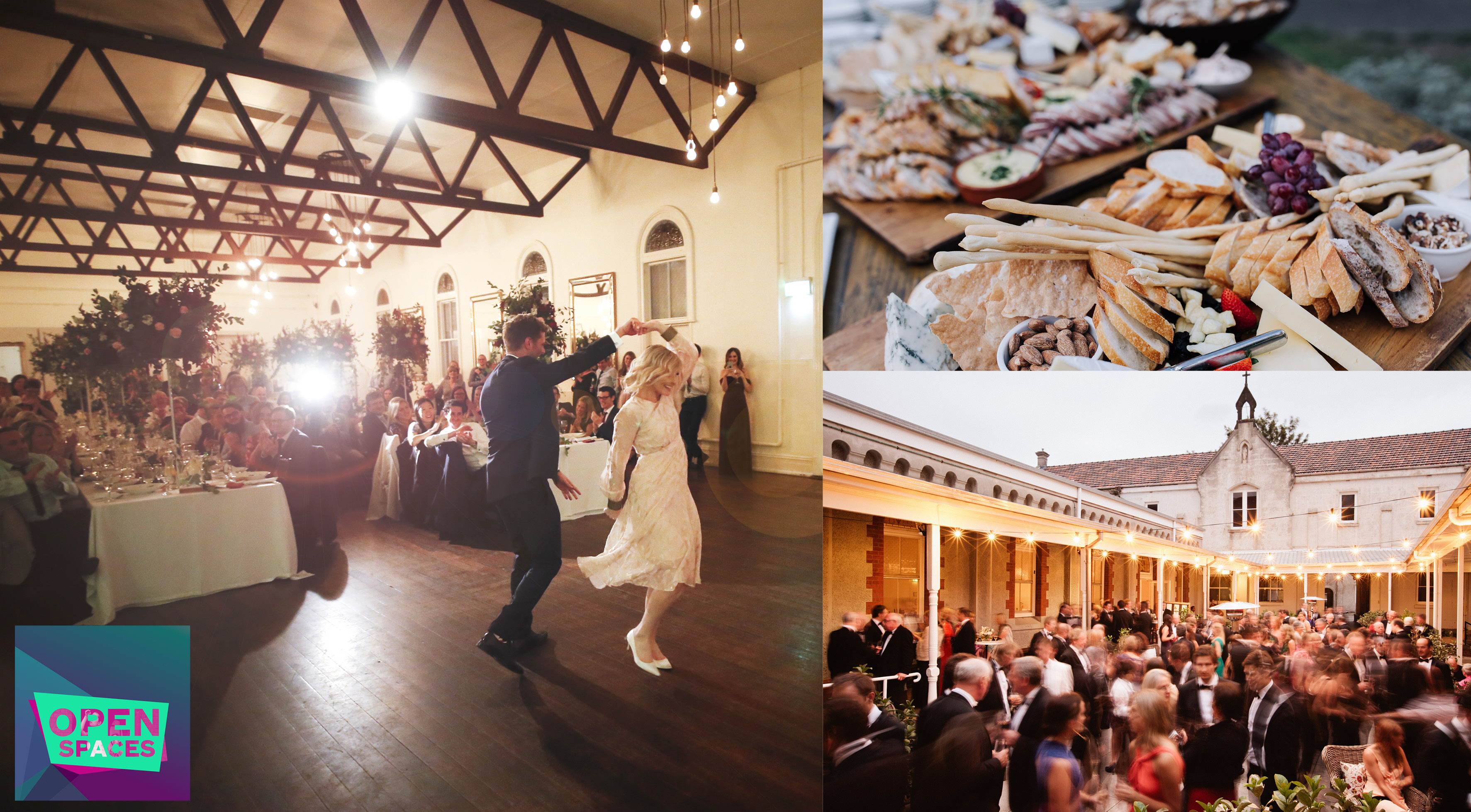 open spaces 18 abbotsford convent melbourne bursaria fine foods abbotsford convent weddings events